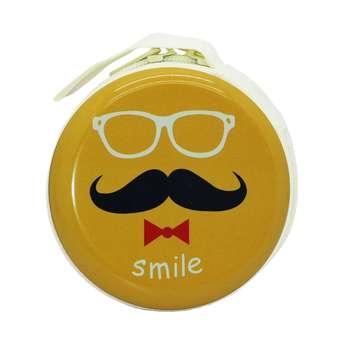 کیف هندزفری طرح Moustache مدل B-04