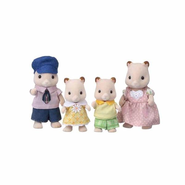 عروسک سیلوانیان فامیلیز طرح خانواده هامستر کد ESF5121 مجموعه 4 عددی