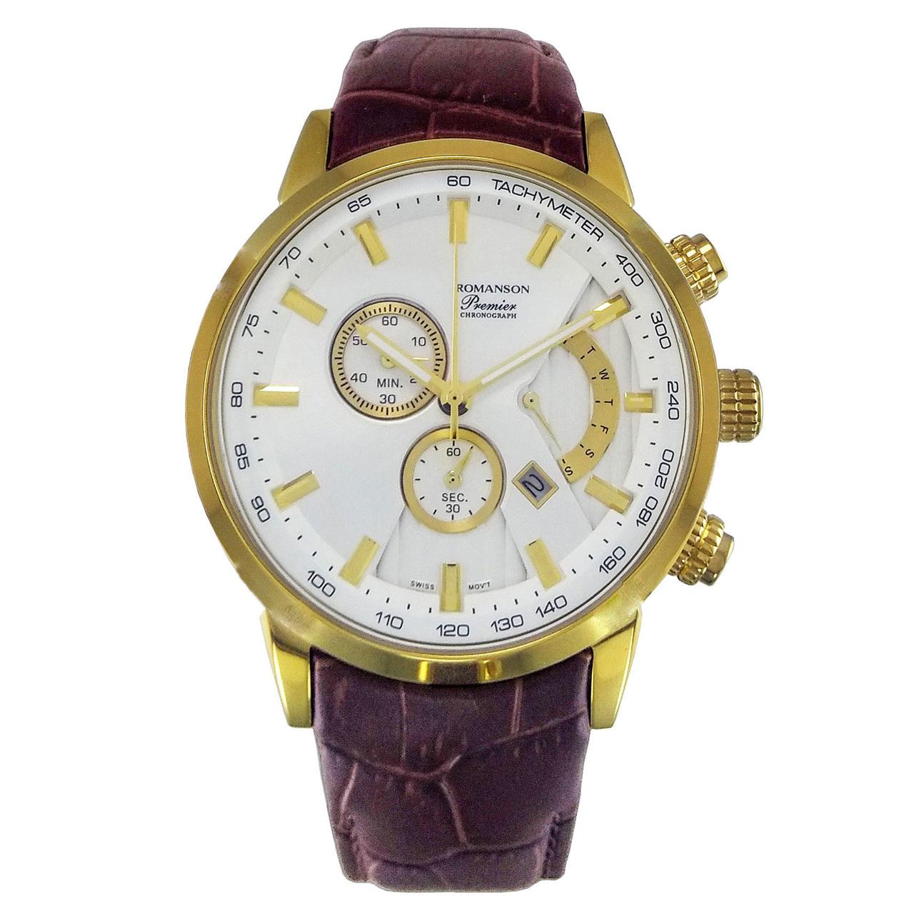 ساعت مچی عقربه ای مردانه مدل ROMA 7112G-2