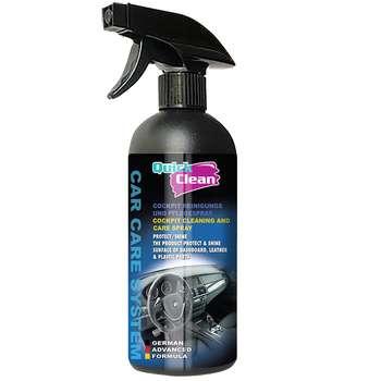اسپری تمیز کننده داشبورد خودرو کوئیک کلین کد QC1150 حجم 500 میلی لیتر