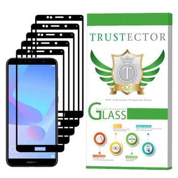 محافظ صفحه نمایش تراستکتور مدل GSS مناسب برای گوشی موبایل هوآوی Y6 Prime 2018 بسته 5 عددی