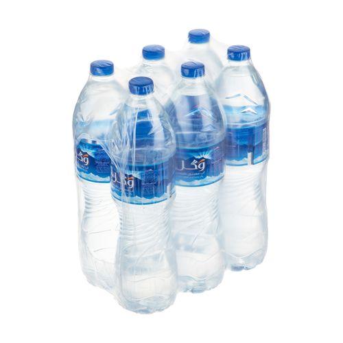 آب معدنی وگل حجم 1.5 لیتر بسته 6 عددی