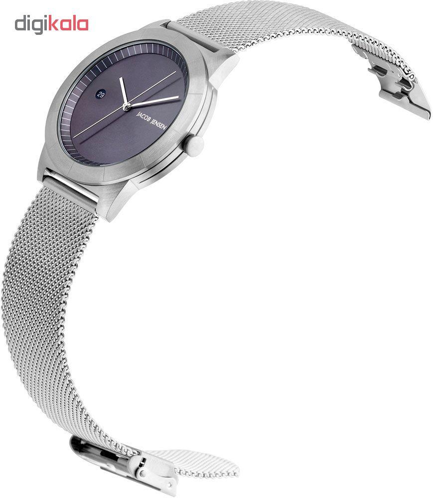 ساعت مچی عقربه ای زنانه جیکوب جنسن مدل Ascent153