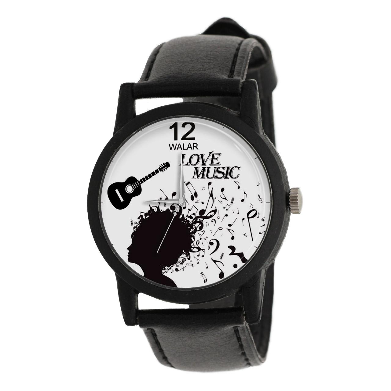 کد تخفیف                                      ساعت مچی عقربه ای والار طرح موسیقی مدل LF1325