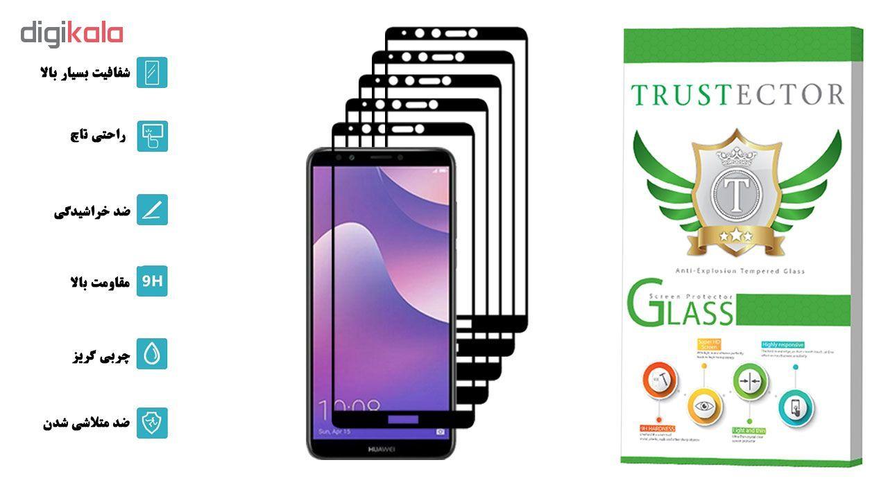 محافظ صفحه نمایش تراستکتور مدل GSS مناسب برای گوشی موبایل هوآوی Y7 Prime 2018 / آنر 7C بسته 5 عددی main 1 2
