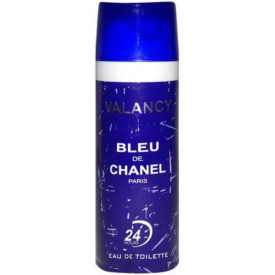 تصویر اسپری خوشبو کننده بدن مردانه والانسی مدل Bleu De Chanel حجم 200 میلی لیتر