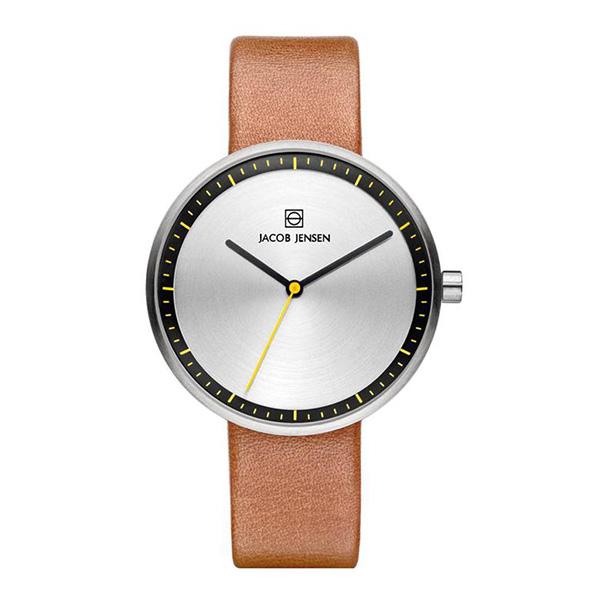 ساعت مچی عقربه ای زنانه جیکوب جنسن مدل Strata 281