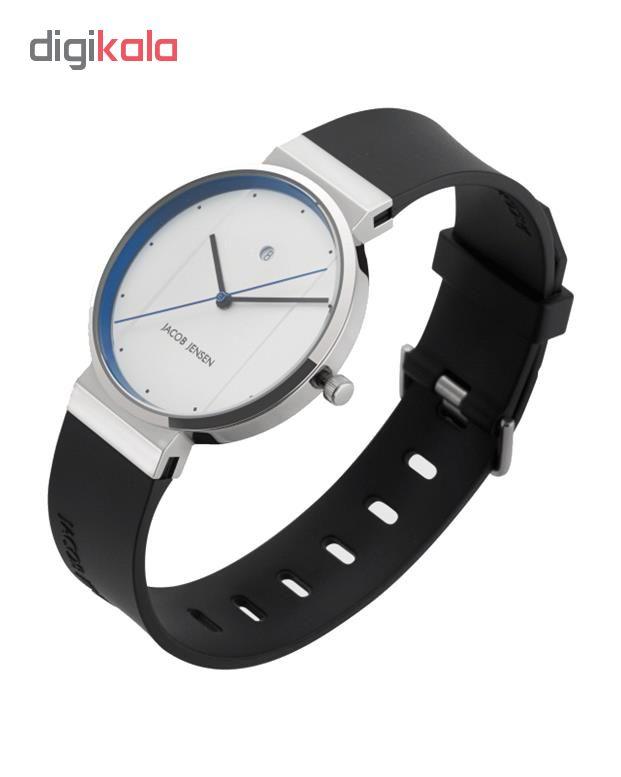 ساعت مچی عقربه ای مردانه جیکوب جنسن مدل New Series 770