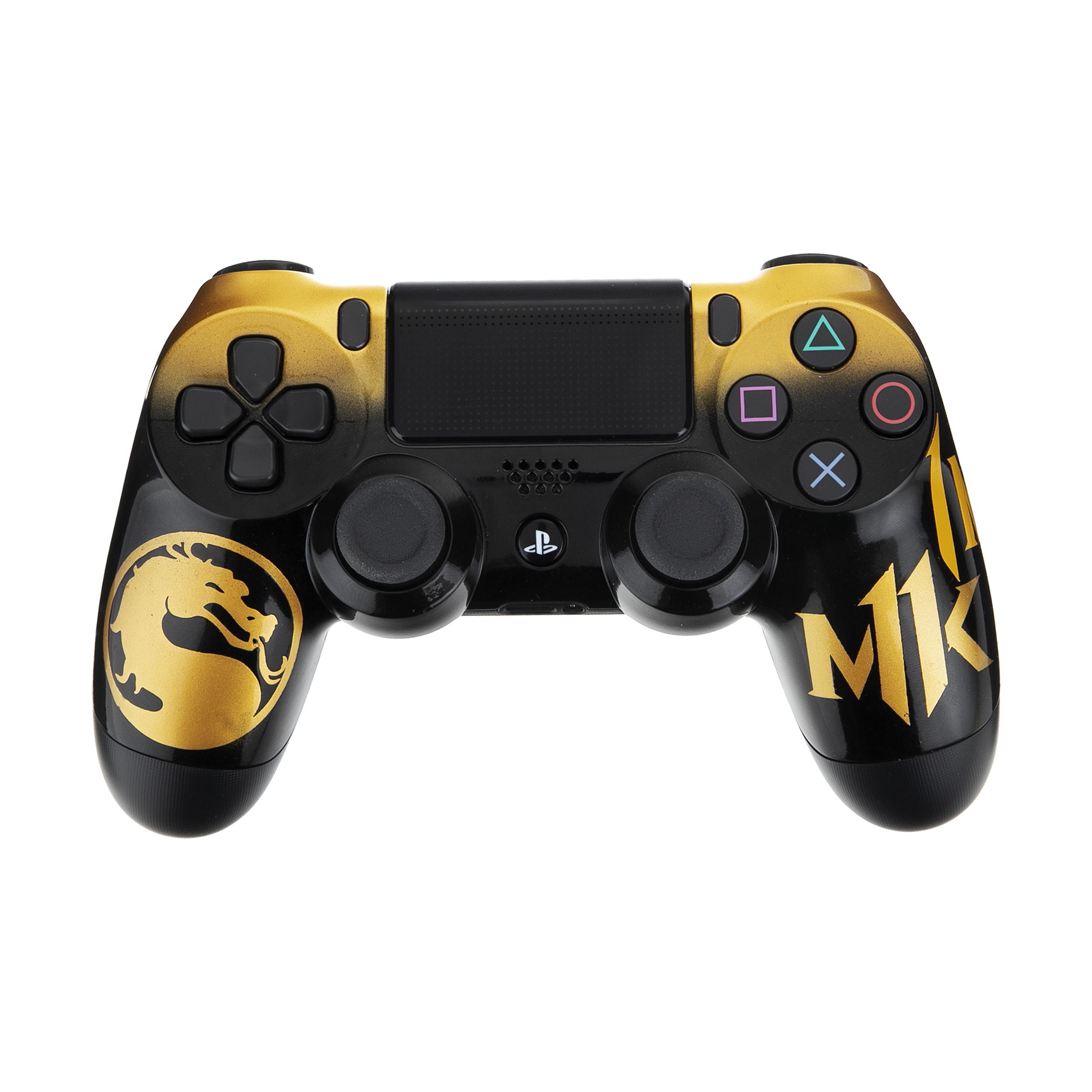 دسته بازی سونی پلی استیشن ۴ مدل CUH-ZCT2E DualShock4 طرح Mortal Kombat