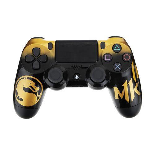 دسته بازی سونی پلی استیشن 4 مدل CUH-ZCT2E DualShock4 طرح Mortal Kombat