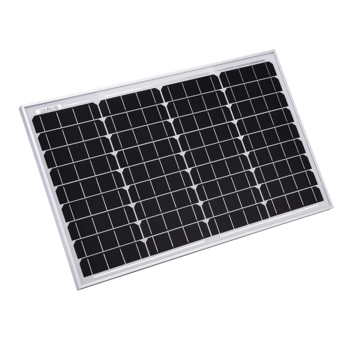 پنل خورشیدی مدل YH80W-18-M ظرفیت 80 وات