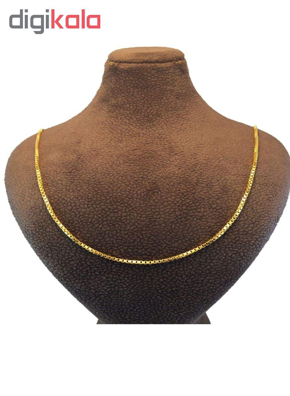 زنجیر طلا ۱۸ عیار زنانه مدل ونیزی main 1 1