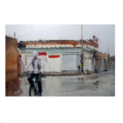 Photo of تابلو نقاشی طرح بوی باران کد 2