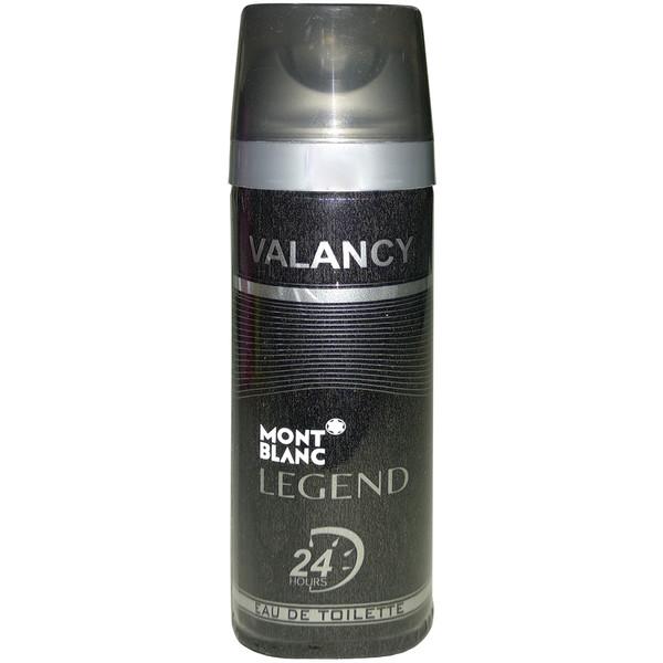 اسپری خوشبو کننده بدن مردانه والانسی مدل Mont Blanc Legend حجم 200 میلی لیتر