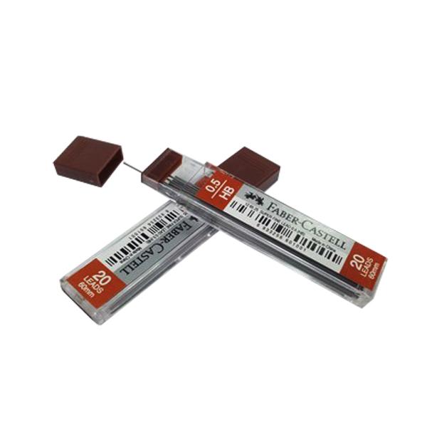 نوک مدادنوکی 0.5 میلی متری فابرکاستل مدل superfine کد134675 بسته 2عددی