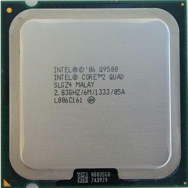 پردازنده مرکزی اینتل سری Wolfdale مدل Q9500
