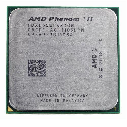 پردازنده مرکزی ای ام دی سری K10 مدل Phenom II X2-B55