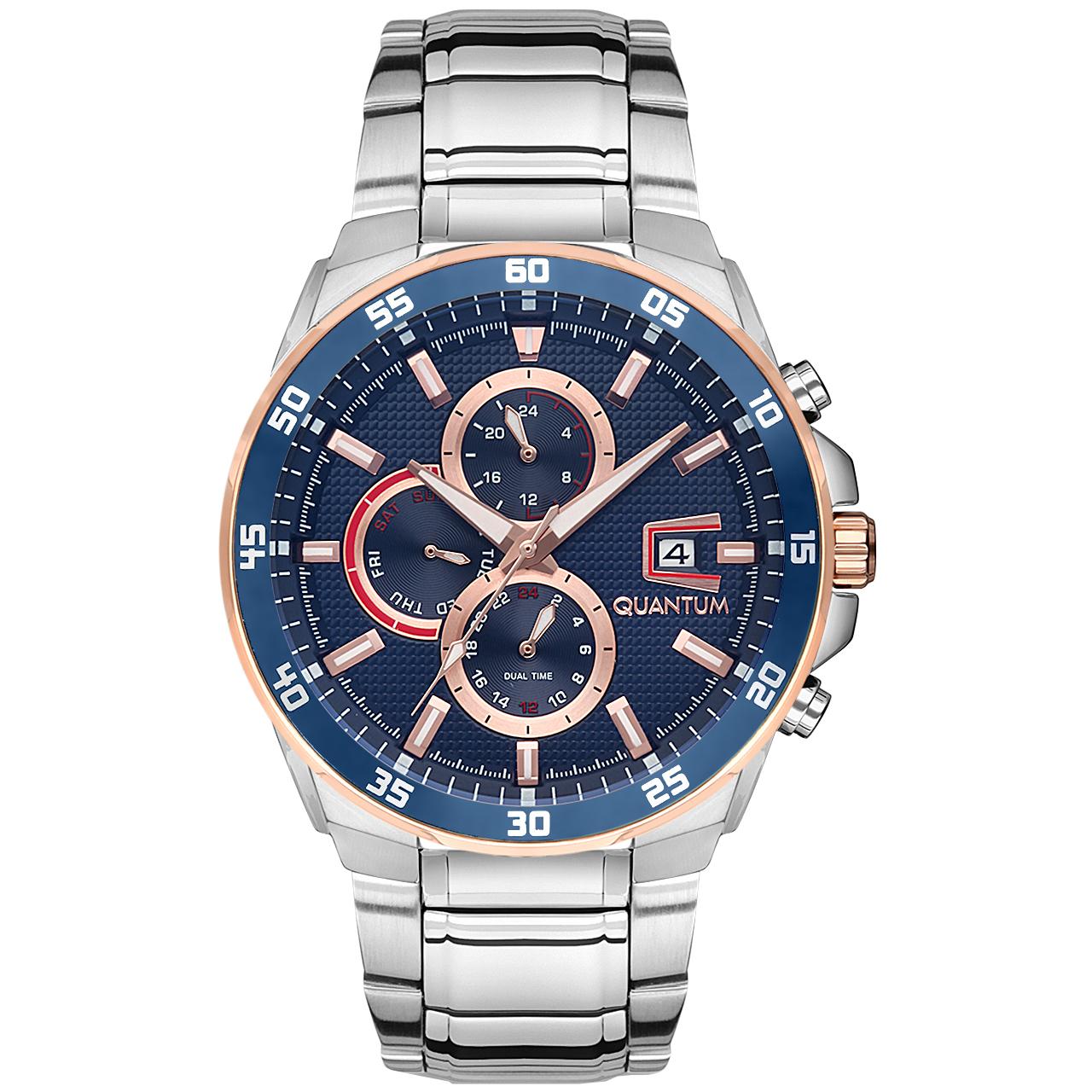 قیمت                      ساعت مچی عقربه ای مردانه کوانتوم کد ADG672.590