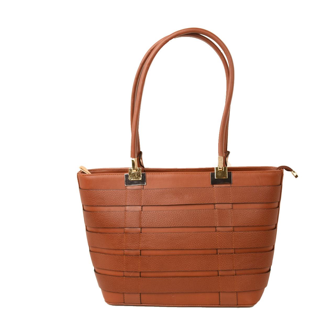 کیف دوشی زنانه پارینه مدل 1382-PLV151-1