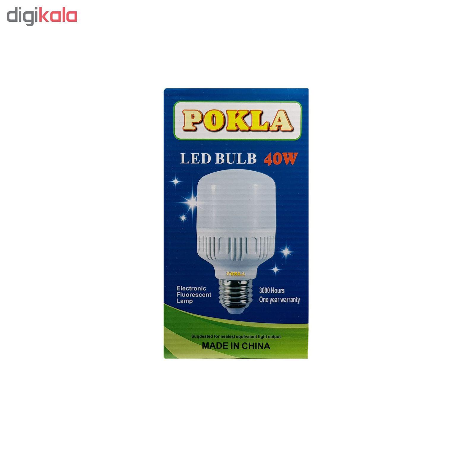 لامپ ال ای دی 40 وات پوکلا کد SH_4040  main 1 2