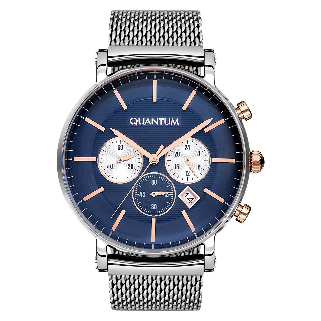 قیمت                      ساعت مچی عقربه ای مردانه کوانتوم مدل ADG723.390