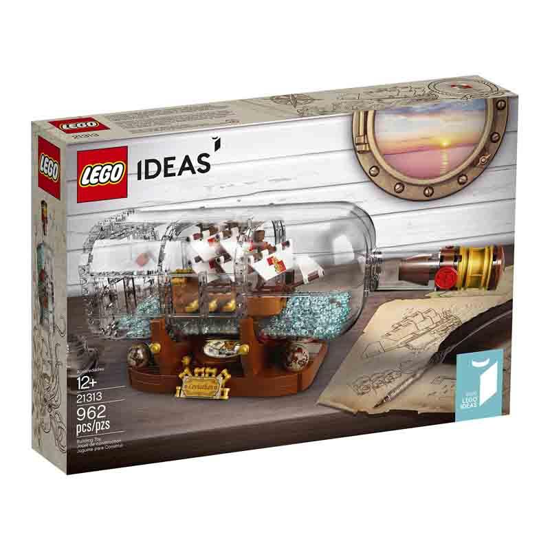 لگو سری Ideas مدل Ship in a Bottle کد 21313