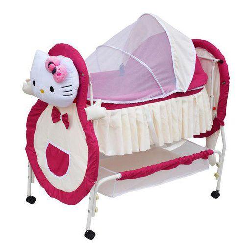 تخت نوزاد کوشا طرح کیتی مدل SANIKO11