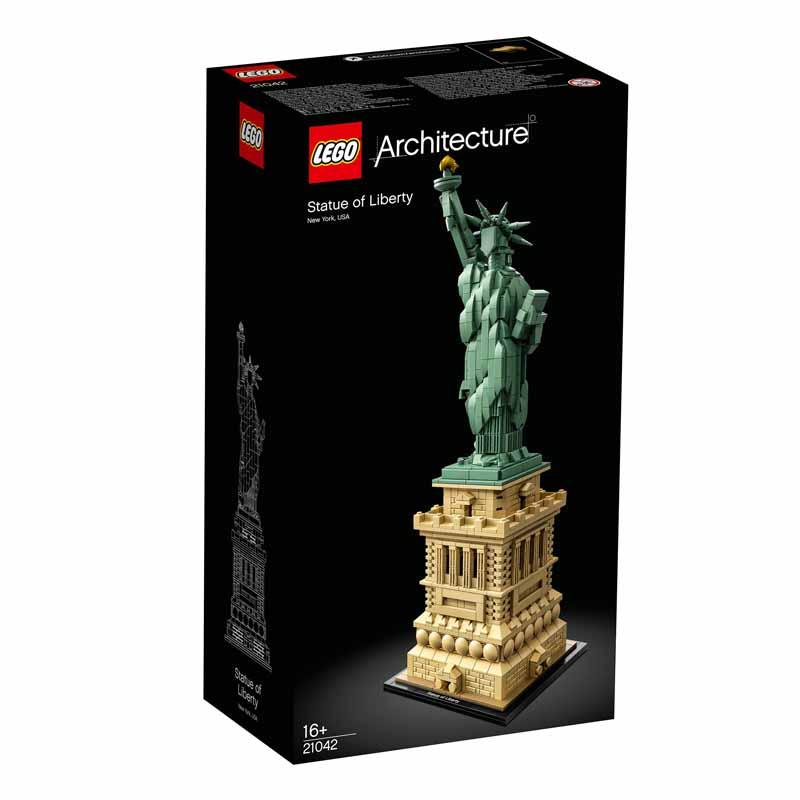 لگو سری Architecture مدل Statue of Liberty کد 21042