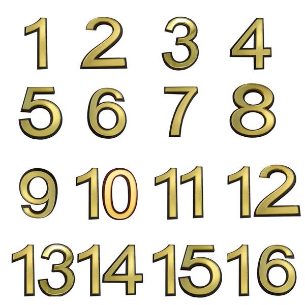 تابلو نشانگر طرح شماره واحد مدل snumb16 مجموعه 16 عددی