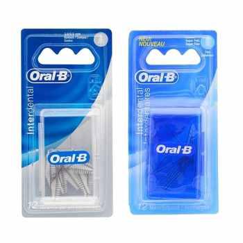 یدک مسواک بین دندانی اورال-بی مدل L12 مجموعه 2 عددی