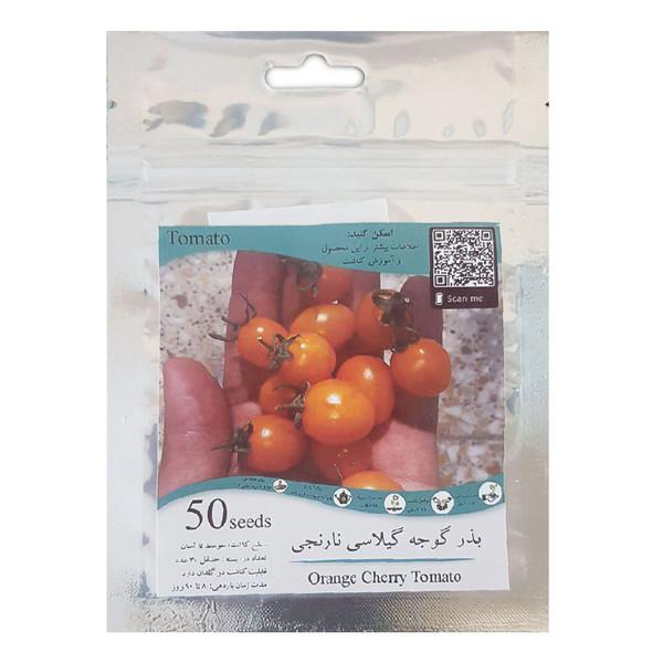 بذر گوجه گیلاسی نارنجی مدل GL50