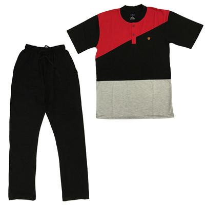 تصویر ست تی شرت و شلوار مردانه سیلکا کد 30201