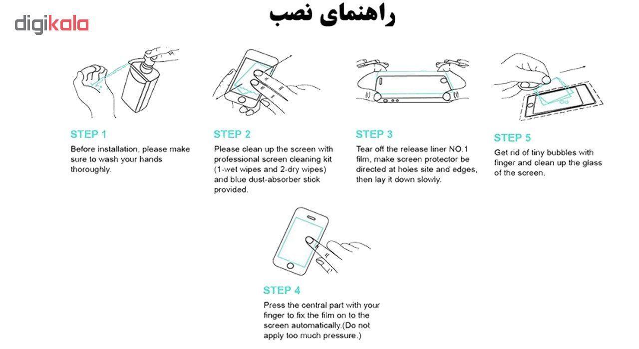 محافظ صفحه نمایش تراستکتور مدل GSS مناسب برای گوشی موبایل نوکیا 6 بسته 3 عددی main 1 7