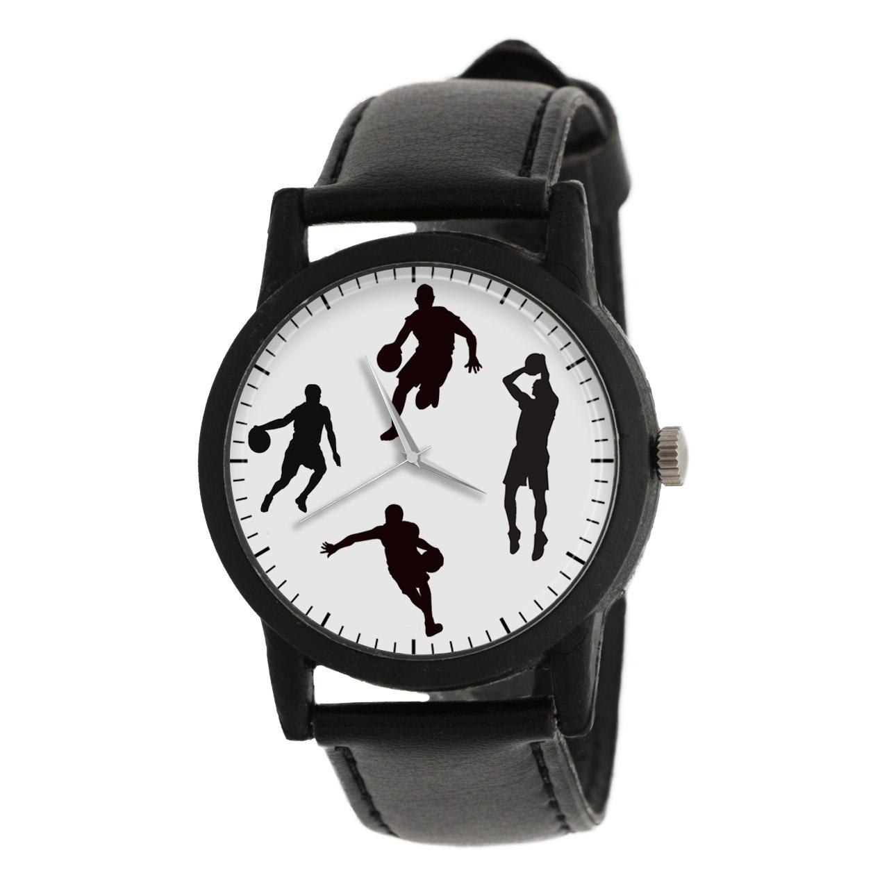 کد تخفیف                                      ساعت مچی عقربه ای مردانه طرح بسکتبال مدل LF1235