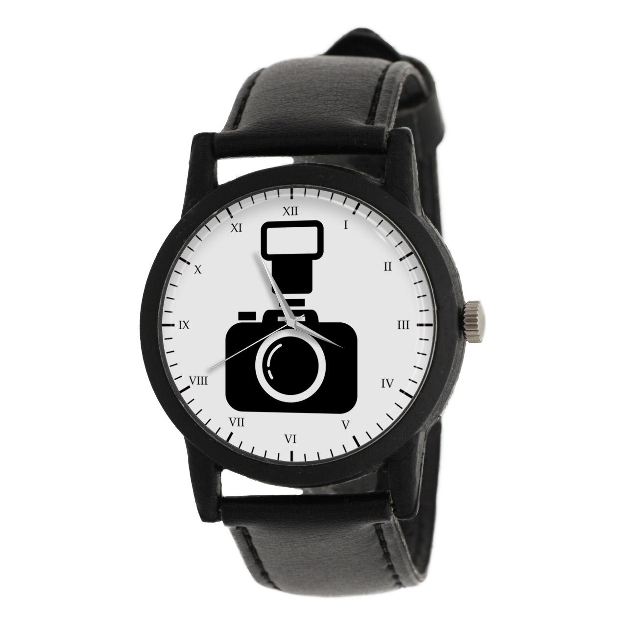 ساعت مچی عقربه ای طرح دوربین عکاسی مدل LF1234