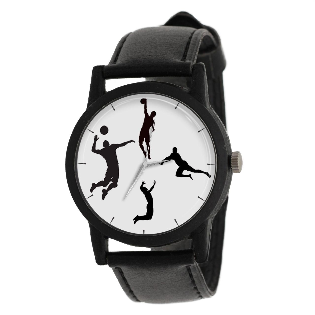 کد تخفیف                                      ساعت مچی عقربه ای مردانه طرح والیبال مدل LF1232