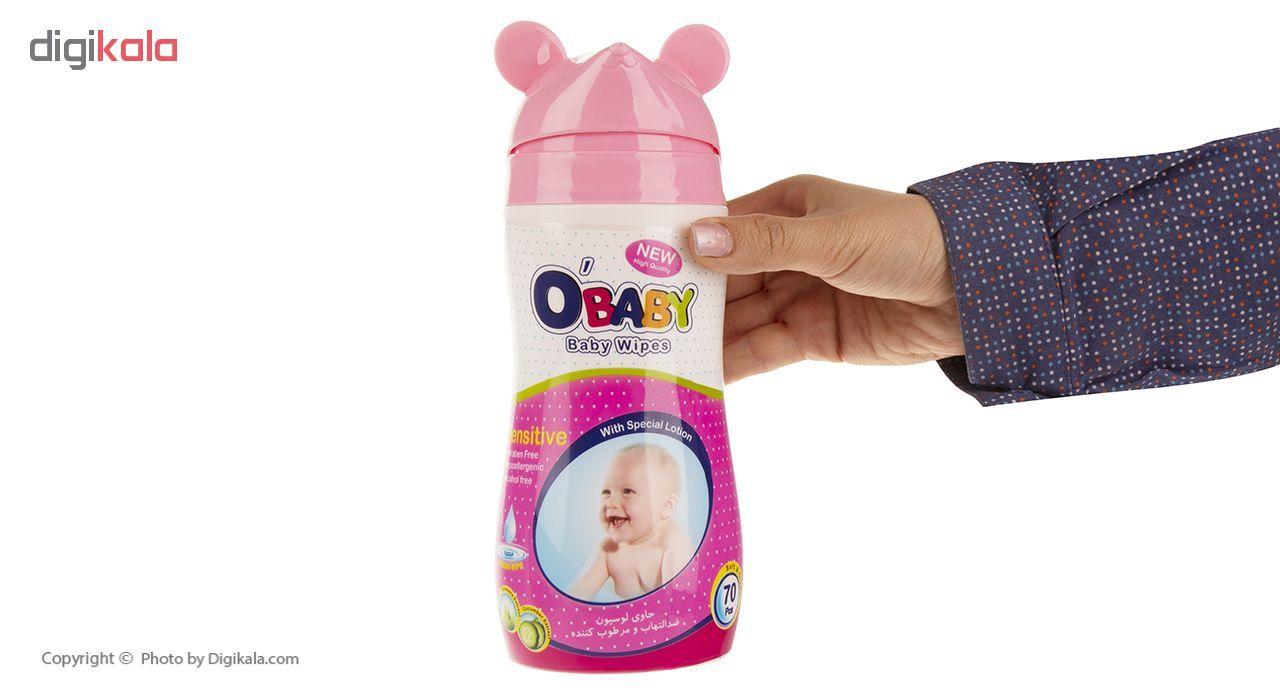 دستمال مرطوب کودک او بیبی بسته 70 عددی main 1 5