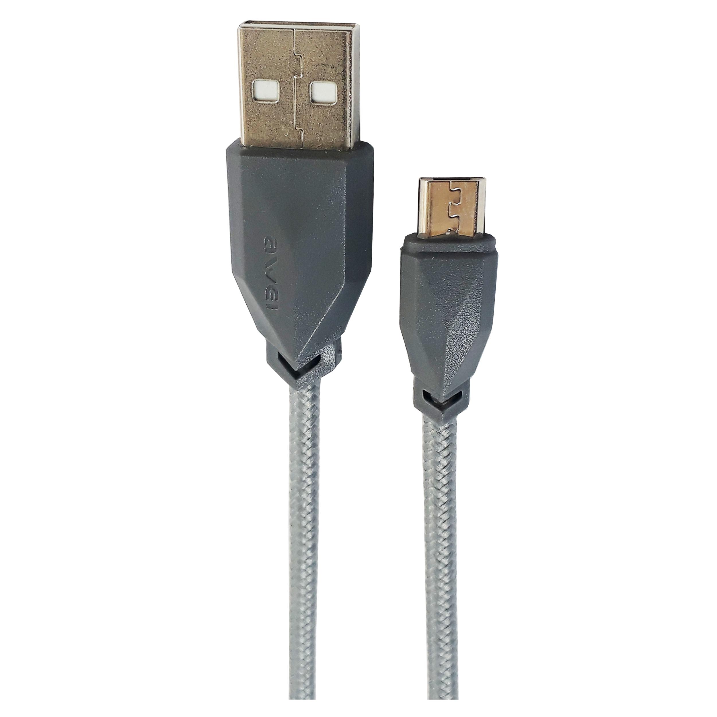 کابل تبدیل USB به microUSB اوی مدل CL-982 طول 1 متر