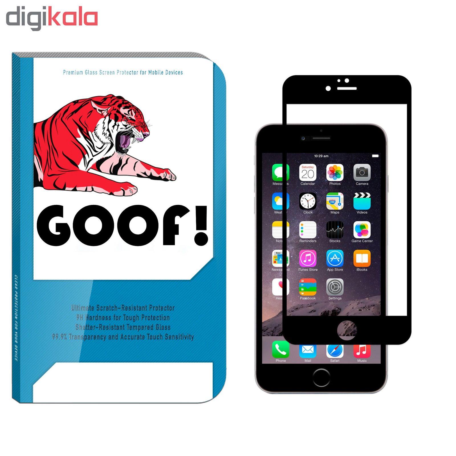 محافظ صفحه نمایش گوف مدل TI-001 مناسب برای گوشی موبایل اپل Iphone 6 plus / 6s plus main 1 1