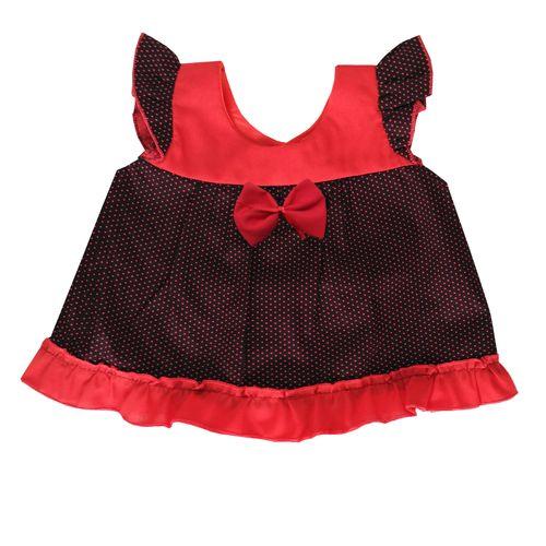 پیراهن نوزادی دخترانه مدل لاله کد 2001