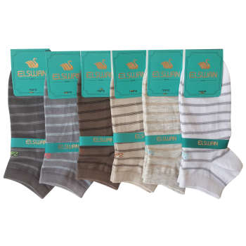 جوراب مردانه ال سون کد PH142 مجموعه 6 عددی
