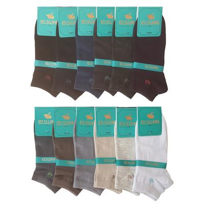 تصویر جوراب مردانه ال سون کد PH146 مجموعه 12 عددی