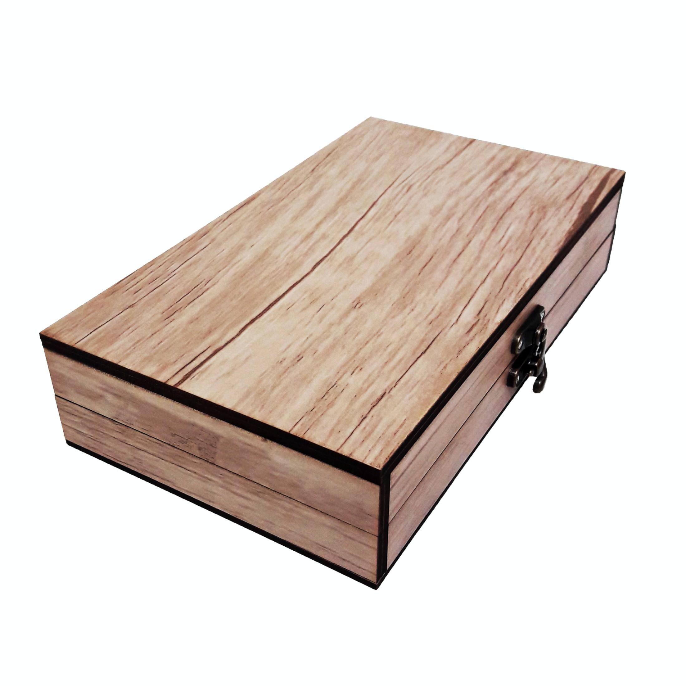 جعبه هدیه چوبی مدل 58