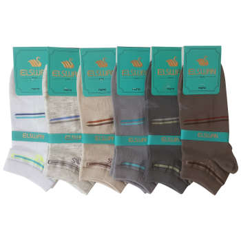جوراب مردانه ال سون کد PH148 مجموعه 6 عددی