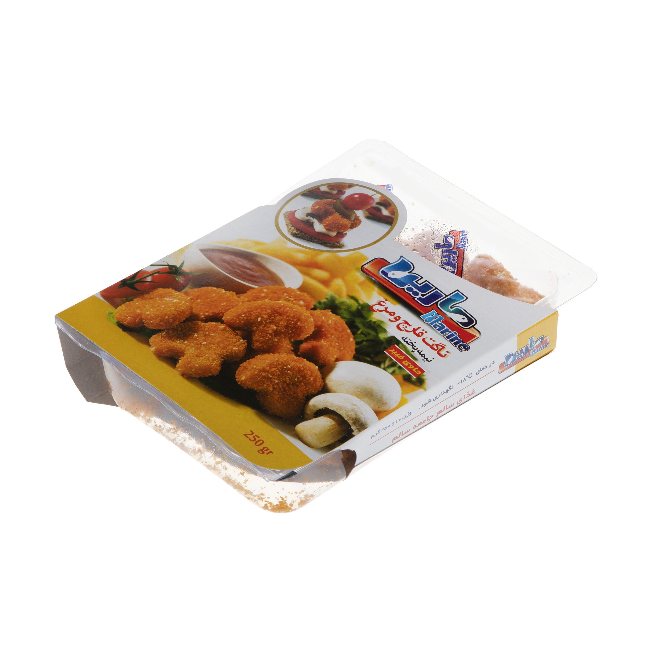 ناگت قارچ و مرغ مارین مقدار 250 گرم