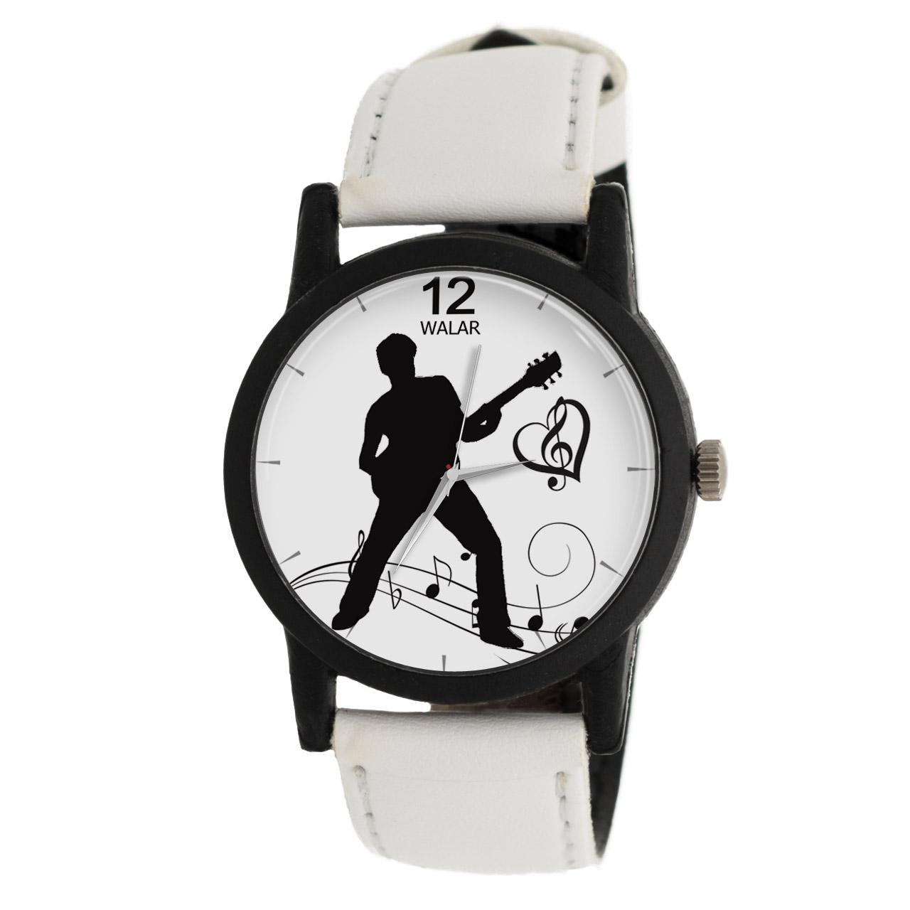ساعت مچی عقربه ای والار طرح موسیقی مدل LF1459