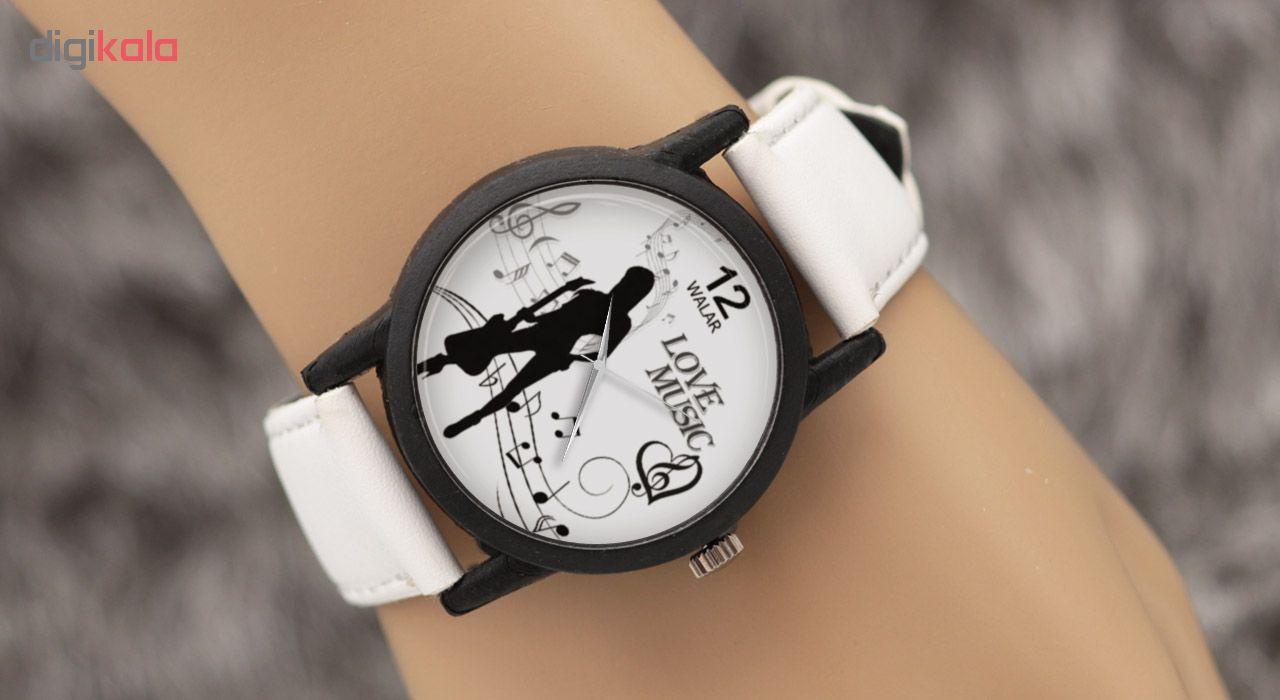 ساعت زنانه برند والار طرح موسیقی مدل LF1460