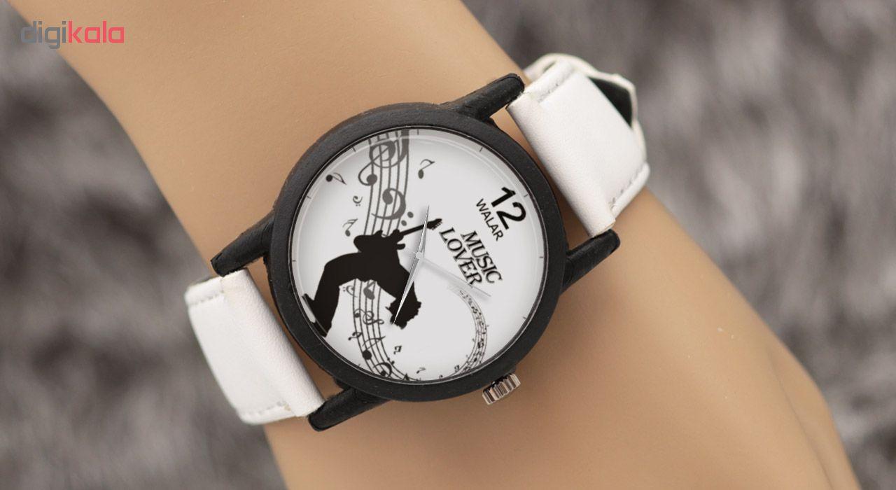 ساعت مچی عقربه ای والار طرح Music Lover مدل LF1464
