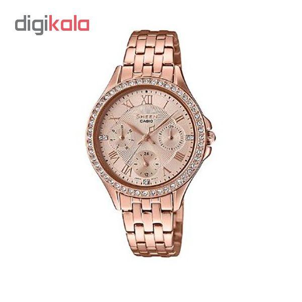 ساعت مچی عقربه ای زنانه کاسیو مدل SHE-3062PG-9A