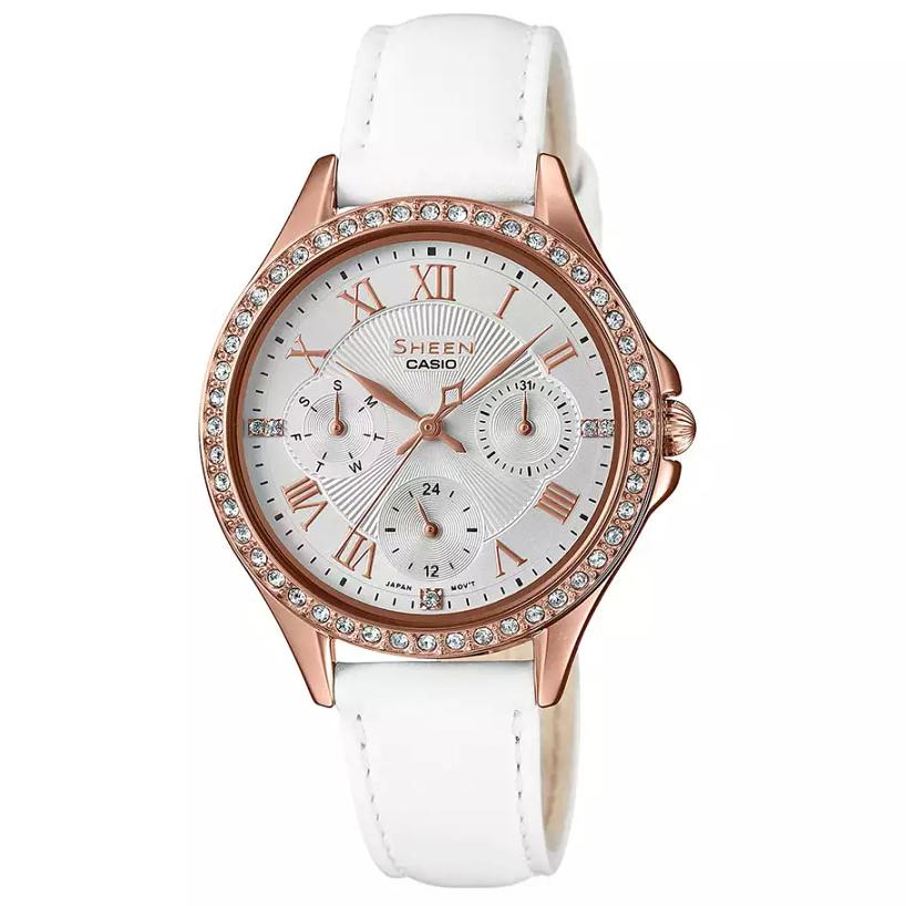 ساعت مچی عقربه ای زنانه کاسیو مدل SHE-3062PGL-7A